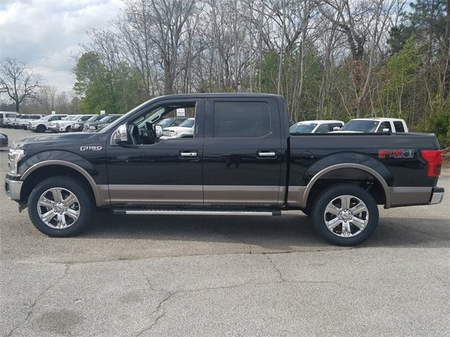 2018 Shadow Black Ford F-150 Lariat 4 Door EcoBoost 3.5L V6 GTDi DOHC 24V Twin Turbocharged Engine Automatic Truck 4X4