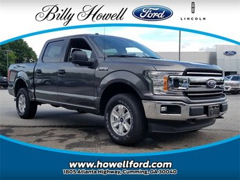 2018 Magnetic Metallic Ford F-150 XLT 4 Door 4X4 EcoBoost 3.5L V6 GTDi DOHC 24V Twin Turbocharged Engine