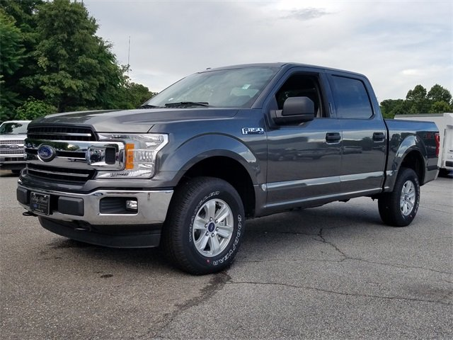2018 Magnetic Metallic Ford F-150 XLT EcoBoost 3.5L V6 GTDi DOHC 24V Twin Turbocharged Engine Automatic 4 Door