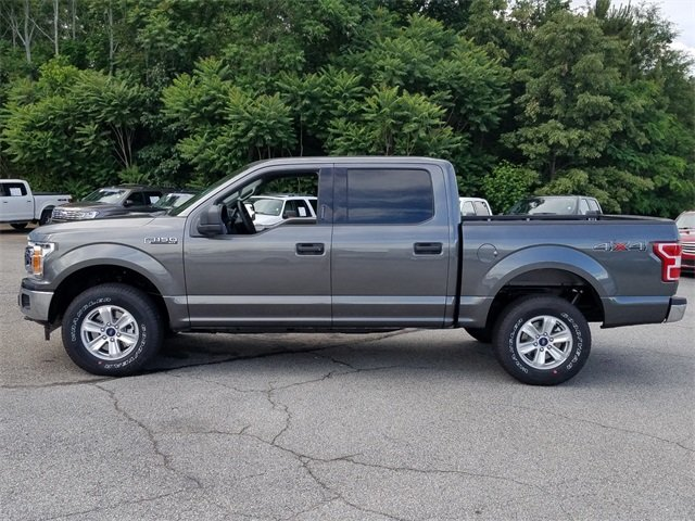2018 Magnetic Metallic Ford F-150 XLT 4X4 Automatic Truck 4 Door EcoBoost 3.5L V6 GTDi DOHC 24V Twin Turbocharged Engine