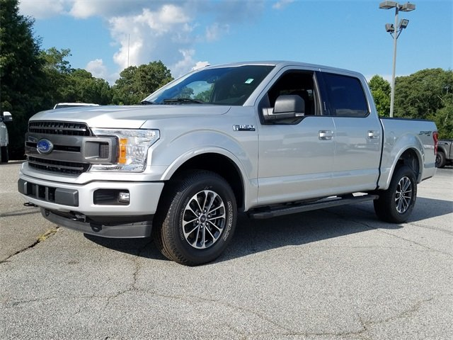 2018 Ingot Silver Metallic Ford F-150 XLT Automatic 4 Door Truck 4X4