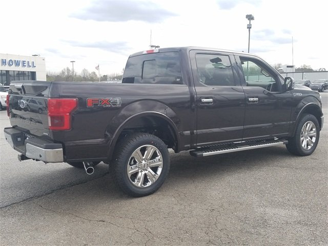 2018 Magma Red Metallic Ford F-150 Lariat Truck 4 Door 4X4 3.5L EcoBoost V6 engine with Auto Start/Stop Technology Automatic