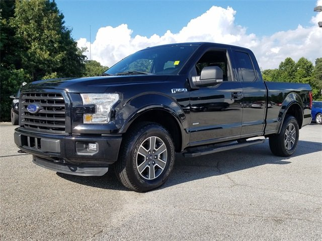 2016 Shadow Black Ford F-150 XLT Automatic Truck 4 Door 4X4