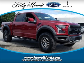 2018 Ford F-150 Raptor Automatic 4 Door 4X4