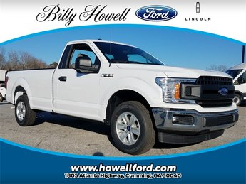 2018 Oxford White Ford F-150 XL RWD Automatic 5.0L Ti-VCT V8 engine with Auto Start/Stop Technology