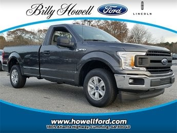2018 Magnetic Ford F-150 XL RWD 3.3L Ti-VCT V6 engine with Auto Start/Stop Technology Truck