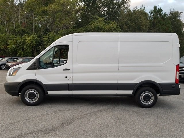 2018 Oxford White Ford Transit-250 Base Van 3.7L V6 Ti-VCT 24V Engine Automatic