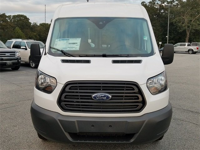 2018 Oxford White Ford Transit-250 Base 3.7L V6 Ti-VCT 24V Engine Van Automatic 3 Door RWD