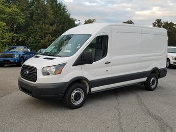 2018 Oxford White Ford Transit Vanwagon Cargo Van RWD 3 Door 3.7L Ti-VCT V6 Engine Van Automatic