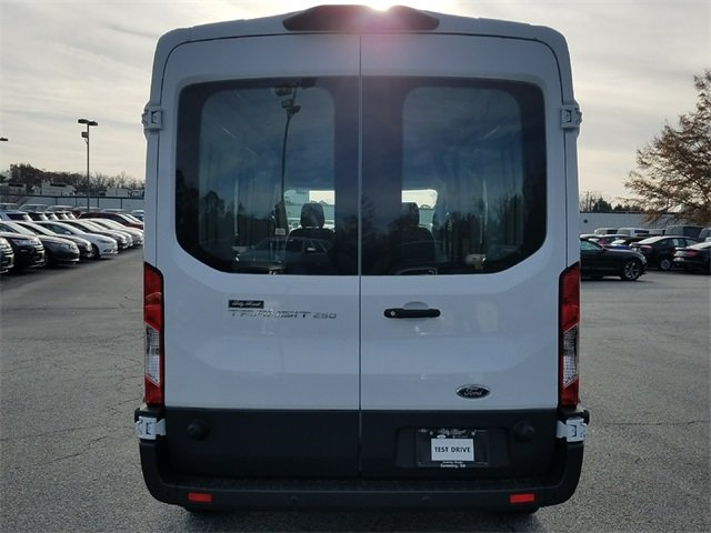 2018 Oxford White Ford Transit-250 Base 3.7L V6 Ti-VCT 24V Engine RWD Van