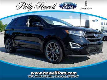 2018 Shadow Black Ford Edge Sport AWD Automatic SUV EcoBoost 2.7L V6 GTDi DOHC 24V Twin Turbocharged Engine 4 Door