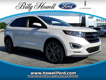 2018 Ford Edge Sport EcoBoost 2.7L V6 GTDi DOHC 24V Twin Turbocharged Engine SUV 4 Door