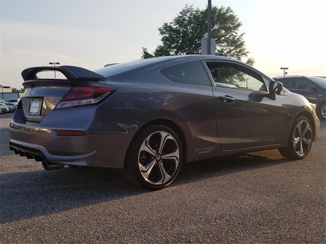 2014 Modern Steel Metallic Honda Civic Si Coupe Manual 2 Door 2.4L I4 DOHC 16V i-VTEC Engine