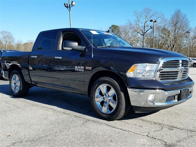 2016 Gray Ram 1500 Big Horn RWD HEMI 5.7L V8 Multi Displacement VVT Engine Automatic Truck 4 Door