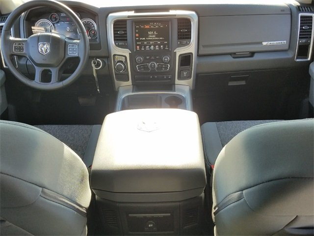 2016 Gray Ram 1500 Big Horn RWD 4 Door Automatic HEMI 5.7L V8 Multi Displacement VVT Engine