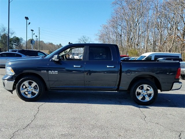 2016 Gray Ram 1500 Big Horn RWD 4 Door Truck Automatic HEMI 5.7L V8 Multi Displacement VVT Engine