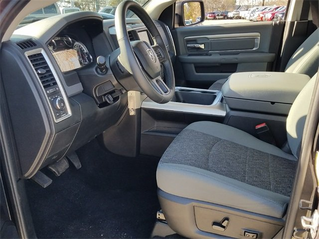 2016 Gray Ram 1500 Big Horn 4 Door Truck HEMI 5.7L V8 Multi Displacement VVT Engine RWD Automatic