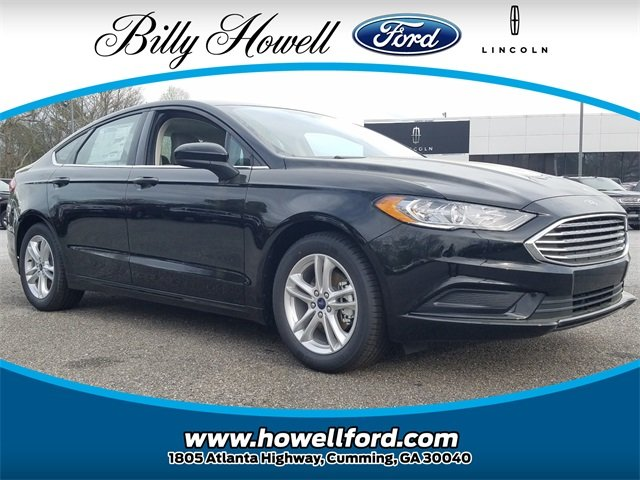 2018 Shadow Black Ford Fusion SE Sedan 4 Door FWD 1.5L EcoBoost I-4 Engine with Auto Start-Stop Technology Automatic