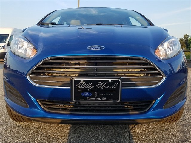2018 Ford Fiesta SE 1.6L Ti-VCT I-4 Engine Automatic Sedan 4 Door