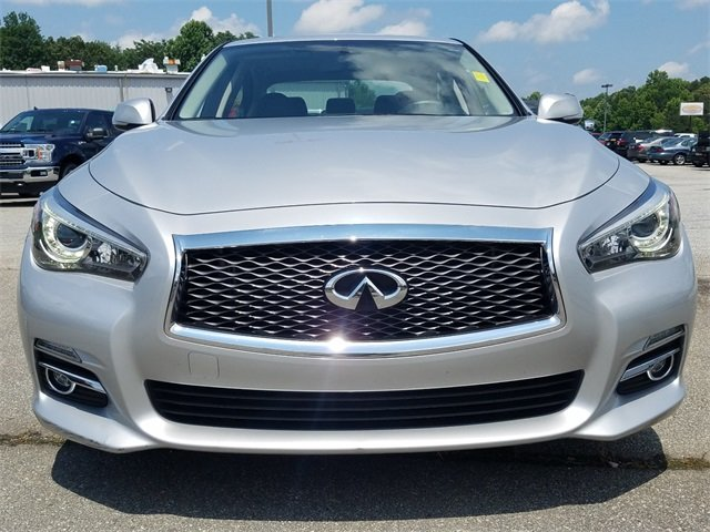 2015 Liquid Platinum Infiniti Q50 Base Automatic 3.7L V6 DOHC 24V Engine 4 Door