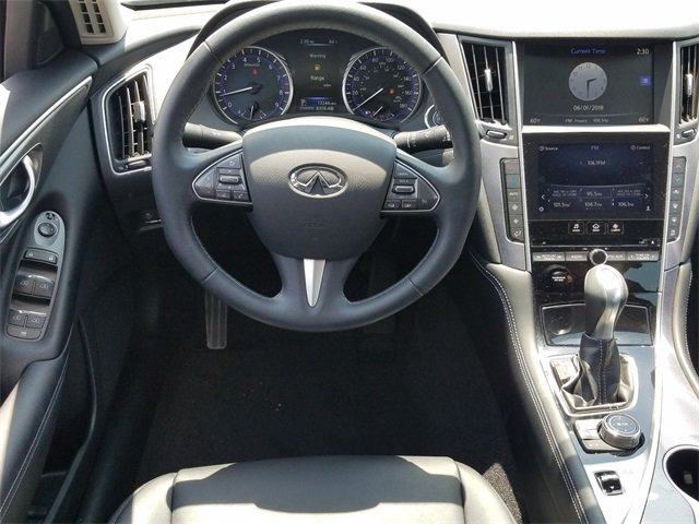 2015 Infiniti Q50 Base Automatic Sedan 4 Door RWD 3.7L V6 DOHC 24V Engine