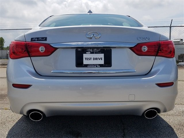 2015 Infiniti Q50 Base 3.7L V6 DOHC 24V Engine Automatic 4 Door Sedan
