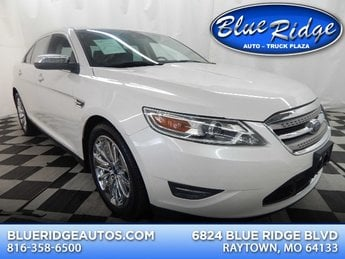 2010 White Platinum Metallic Tri-Coat Ford Taurus Limited 4 Door Sedan 3.5L V6 Engine