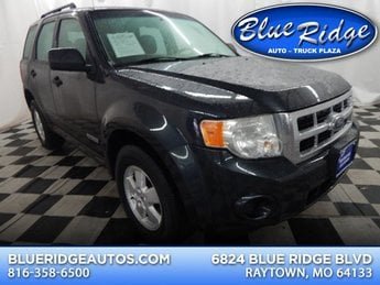 2008 Vista Blue Clearcoat Metallic Ford Escape XLS 4 Door FWD 2.3L 4 cyls Engine Automatic SUV
