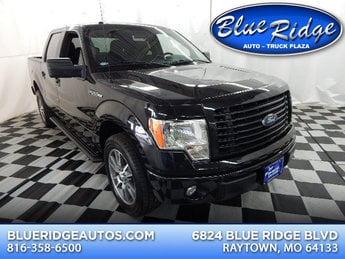 2014 Tuxedo Black Metallic Ford F-150 XLT Automatic 5.0L V8 Engine RWD Truck