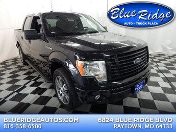 2014 Tuxedo Black Metallic Ford F-150 XLT Automatic Truck 5.0L V8 Engine 4 Door RWD