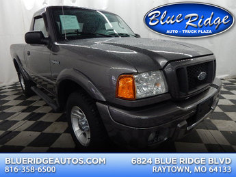2004 Dark Shadow Gray Clearcoat Metallic Ford Ranger Edge Truck Manual 3.0L V6 Engine