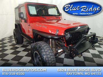 2006 Flame Red Clearcoat/Black Hard Top Jeep Wrangler X 2 Door 4.0L 6 cyls Engine SUV Manual 4X4