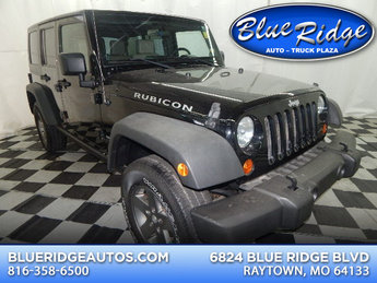 2007 Black Clearcoat/Black Hard Top Jeep Wrangler Unlimited Rubicon Manual SUV 3.8L V6 Engine 4X4