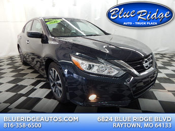 2016 Storm Blue Nissan Altima 2.5 SV Automatic (CVT) Sedan 2.5L 4 cyls Engine 4 Door