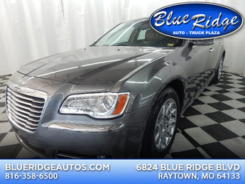 2012 Tungsten Metallic Clearcoat Chrysler 300 Limited RWD 4 Door Sedan Automatic 3.6L V6 Engine