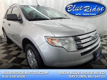 2010 Ingot Silver Metallic Ford Edge SE SUV FWD 4 Door Automatic 3.5L V6 Engine