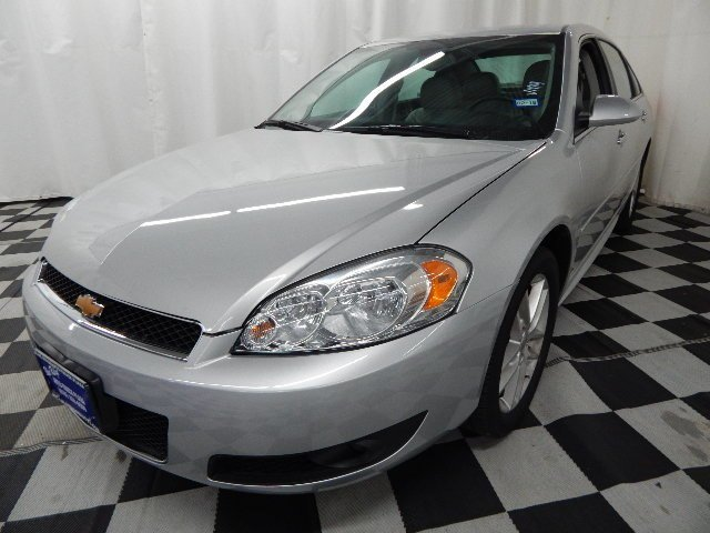 2016 Silver Ice Metallic Chevrolet Impala Limited LTZ Automatic 3.6L V6 Engine Sedan FWD 4 Door