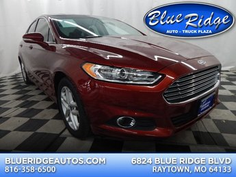 2014 Sunset Metallic Ford Fusion SE FWD 4 Door Sedan Automatic 1.5L 4 cyls Engine