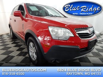 2009 Chili Pepper Red Saturn VUE XE 4 Door SUV Automatic