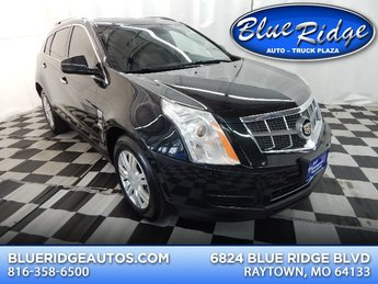 2011 Black Ice Metallic Cadillac SRX Luxury Collection AWD Automatic 4 Door SUV