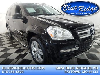2011 Obsidian Black Metallic Mercedes-Benz GL 450 GL 450 Automatic SUV 4 Door 4.7L V8 Engine AWD