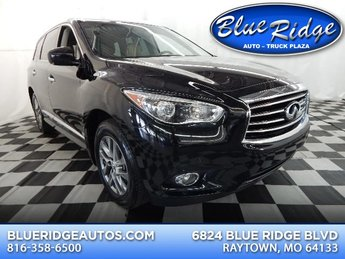 2013 Black Obsidian Infiniti JX35 Base AWD SUV 3.5L V6 Engine Automatic (CVT) 4 Door