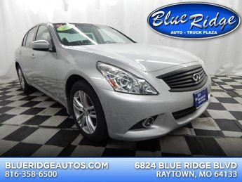 2012 Liquid Platinum Infiniti G37x x Sedan 3.7L V6 Engine AWD