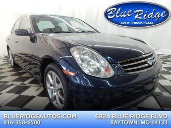 2006 Lakeshore Slate Metallic Infiniti G35x Automatic AWD 4 Door Sedan
