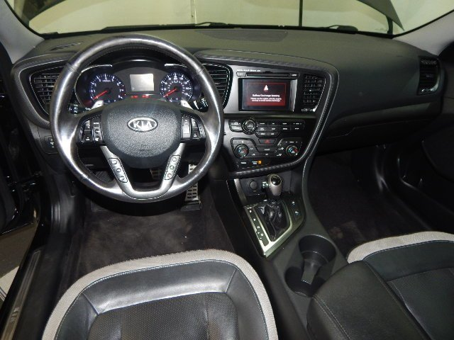 2011 Ebony Black Kia Optima SX 4 Door Automatic Sedan