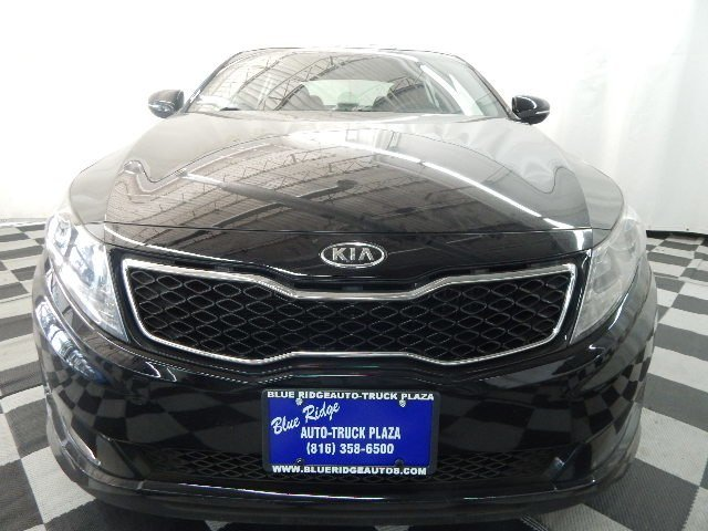 2011 Ebony Black Kia Optima SX Automatic 2.0L 4 cyls Engine FWD Sedan 4 Door