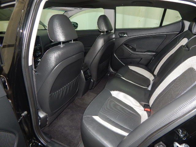 2011 Ebony Black Kia Optima SX Sedan FWD 4 Door