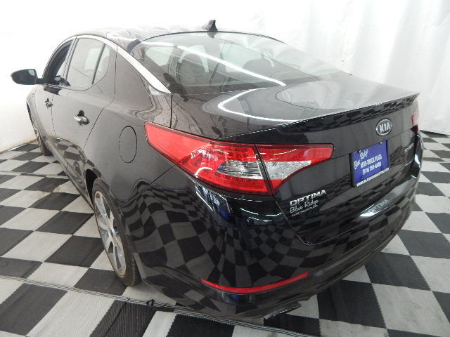 2011 Ebony Black Kia Optima SX Sedan Automatic FWD 4 Door 2.0L 4 cyls Engine