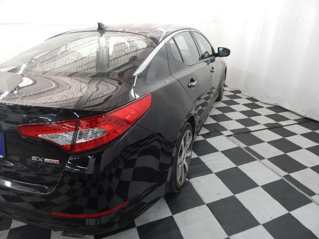 2011 Ebony Black Kia Optima SX 2.0L 4 cyls Engine FWD 4 Door Sedan