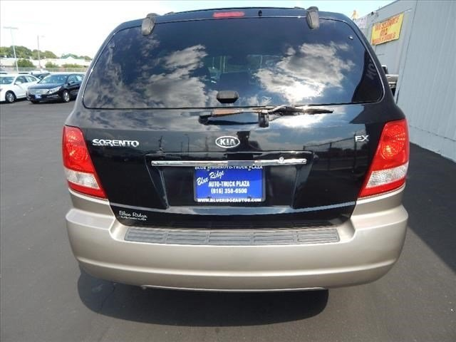 2005 Black Kia Sorento EX SUV 4X4 4 Door Automatic